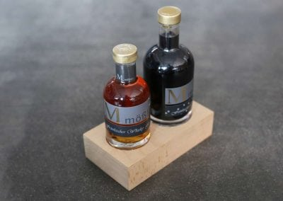 Präsentationsblock für Destillate
