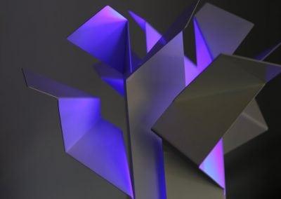Lampe Goldfinger - Inkl. LED Farbwechsel